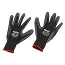 Nitrile gloves size 10 (extra large)