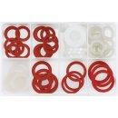 Nylon sealing ring assortment 60 pcs.