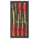 1/3 SFS VDE screwdriver set, 8 pcs.