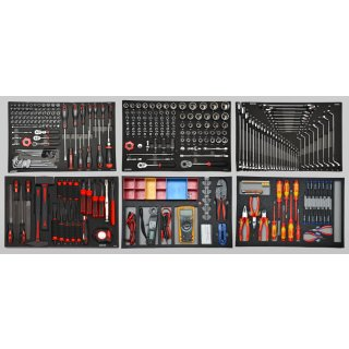 ELECTRICIAN TOOL SET, 354-pcs. Especially for Mercedes-Benz passenger cars, commercial vehicles (and others)
