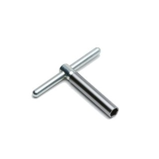 Metal turning handle complete with standard extension for cutter head serie 200- 600