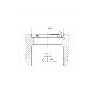 Turning tool MB-88 DAF 0.3