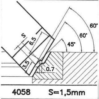 Outil de façon SK 4060 A