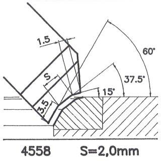 Outil de façon SK 4558 B