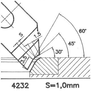 Form tool SK 4232 CX