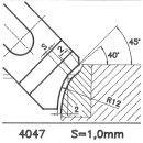 Outil de façon SK 4047 A