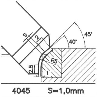 Outil de façon SK 4045 AX