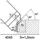 Form tool SK 4045 AX