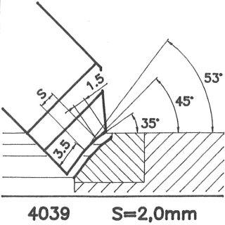 Form tool SK 4039 B