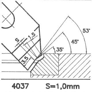 Cuchilla perfilada SK 4037 B