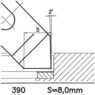 Cuchilla perfilada SK 390 A