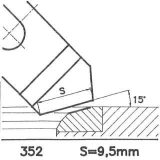 Form tool SK 352 C