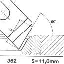 Outil de façon SK 362 A