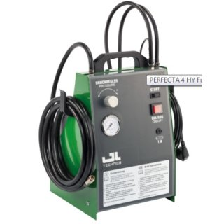 Hydrauliköl-Wechselgerät Perfecta 4 HY tragbar.